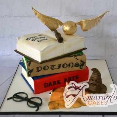 Harry Potter Themed 3D Cake - Amarantos Designer Cakes Melbourne