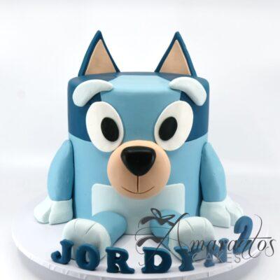 3D Bluey Cake - NC193 - Amarantos Cakes