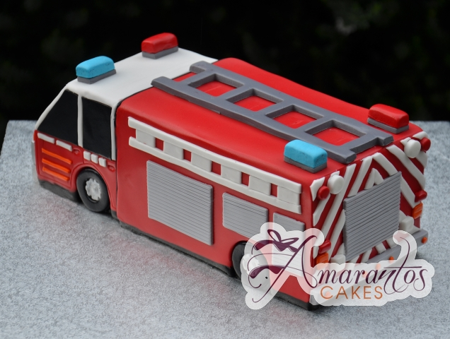 3D Fire Fighters Cake - Amarantos Designer Cakes Melbourne