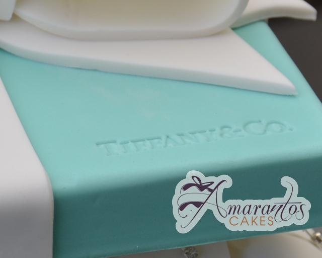 Tiffany & Co Cake - Amarantos Designer Cakes Melbourne