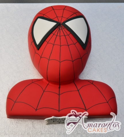 2D Spiderman Cake - Amarantos Birthday Cakes Melbourne