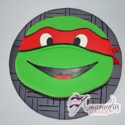 2D Ninja Turtle - Amarantos Designer Cakes Melbourne