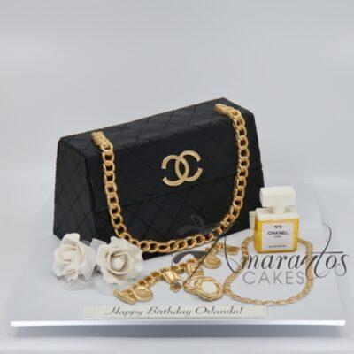 Chanel Handbag Cake - NC22 - Amarantos Cakes