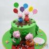 Peppa the Pig Cake - Amarantos Cakes Melbourne