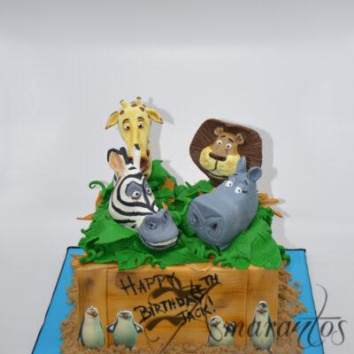 NC292 Madagascar cake Amarantos Cakes Melbourne