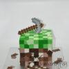 3D Mincraft Themed Cake - Amarantos Designer Cakes Melbourne