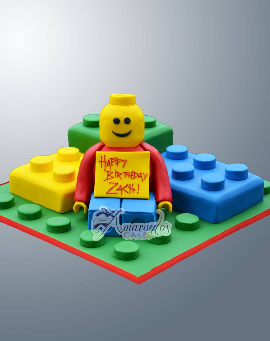 Lego Man Cake- NC300