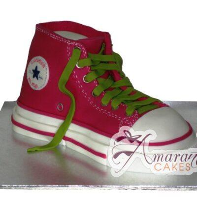 3D Converse Shoe - Amarantos Cakes Melbourne