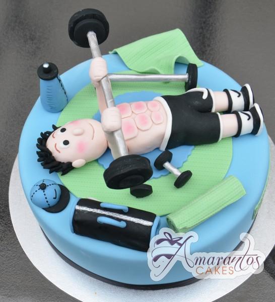 Gym themed cake NC312