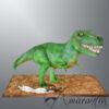 NC322 3D T-Rex Dinosaur Cake