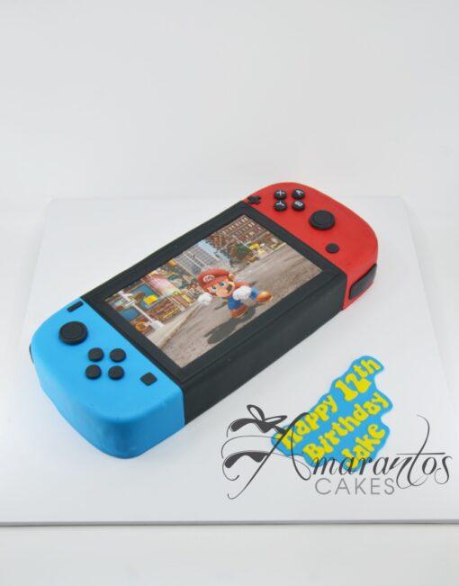 Nintendo switch cake - NC329 - Amarantos Cakes