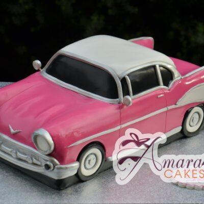 3D Corvette Cake - Amarantos Cakes Melbourne