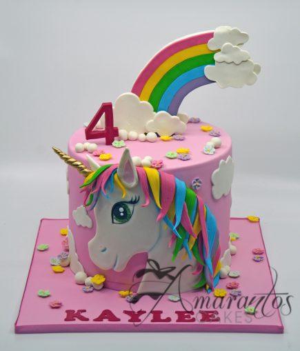 NC381 - Unicorn cake