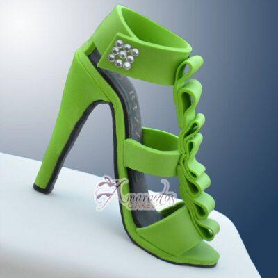 Shoe Box with Shoe - Amarantos Cakes Melbourne