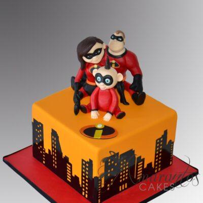 Incredibles Cake - NC408 - Amarantos Cakes