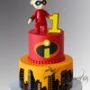Jack Jack Cake - NC409 - Amarantos Cakes