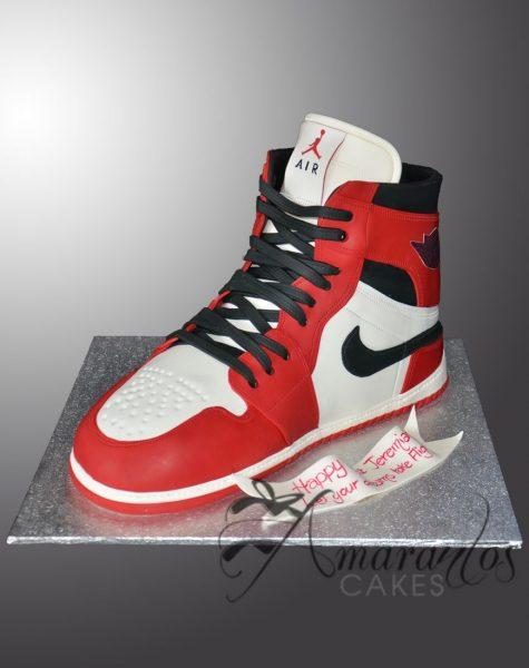 3D Nike Shoe Cake NC42A
