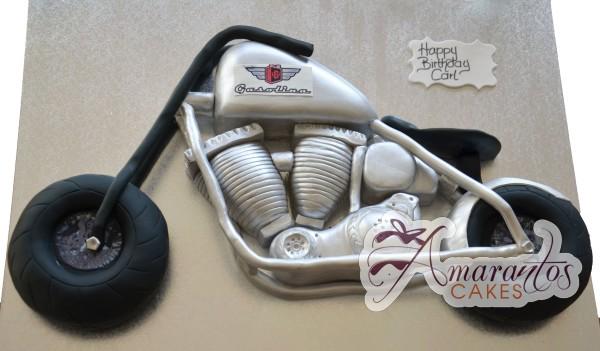 2D Motor bike - Amarantos Cakes Melbourne