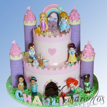 Two tier Princess Castle Cake – NC447