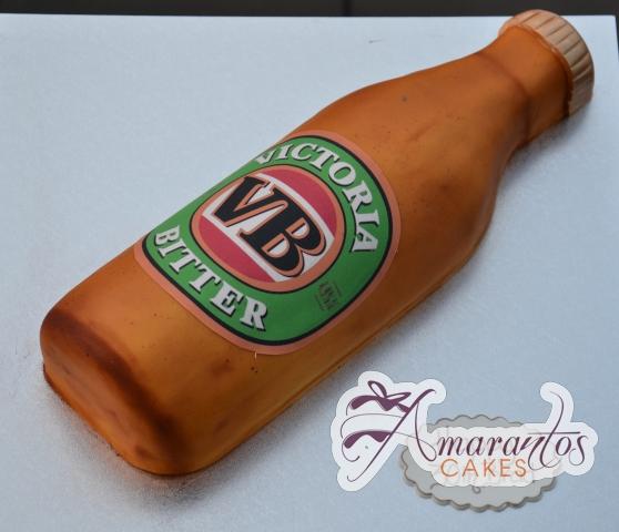 VB Bottle Cake - Amarantos Designer Cakes Melbourne