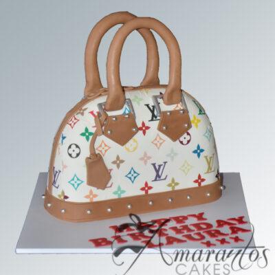 NC454 Louis Vuitton Handbag cake