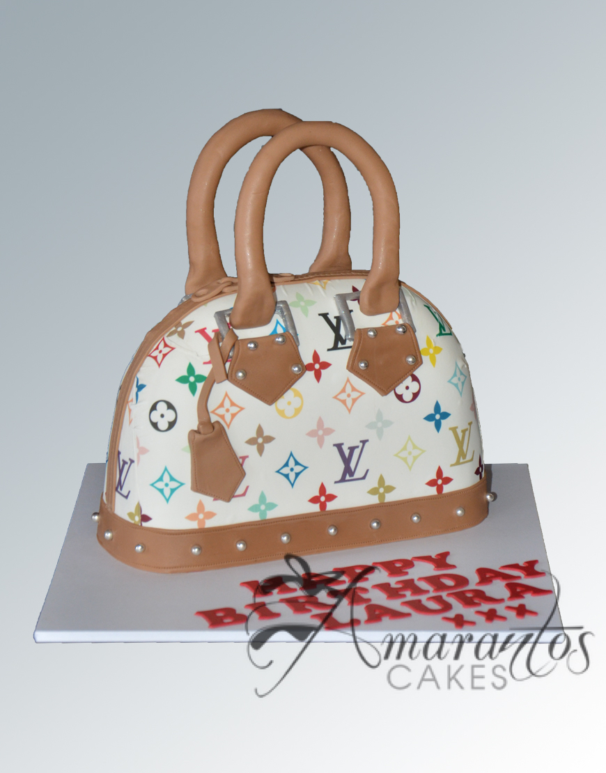 NC454 Louis Vuitton Handbag cake