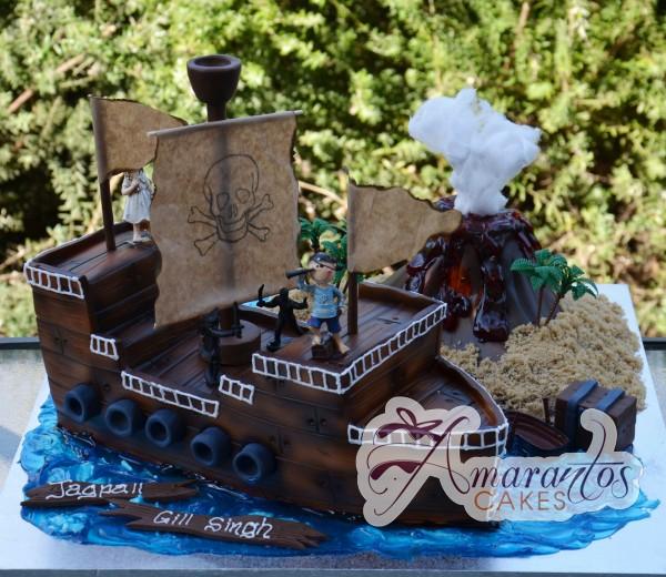 NC46 Amarantos Cakes