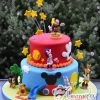 Two tier Mickey Cake - Amarantos Cakes Melbourne