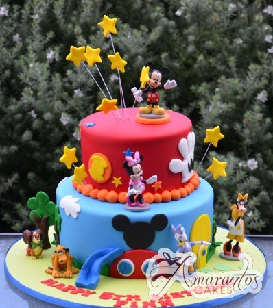 Two tier Mickey Cake- NC460