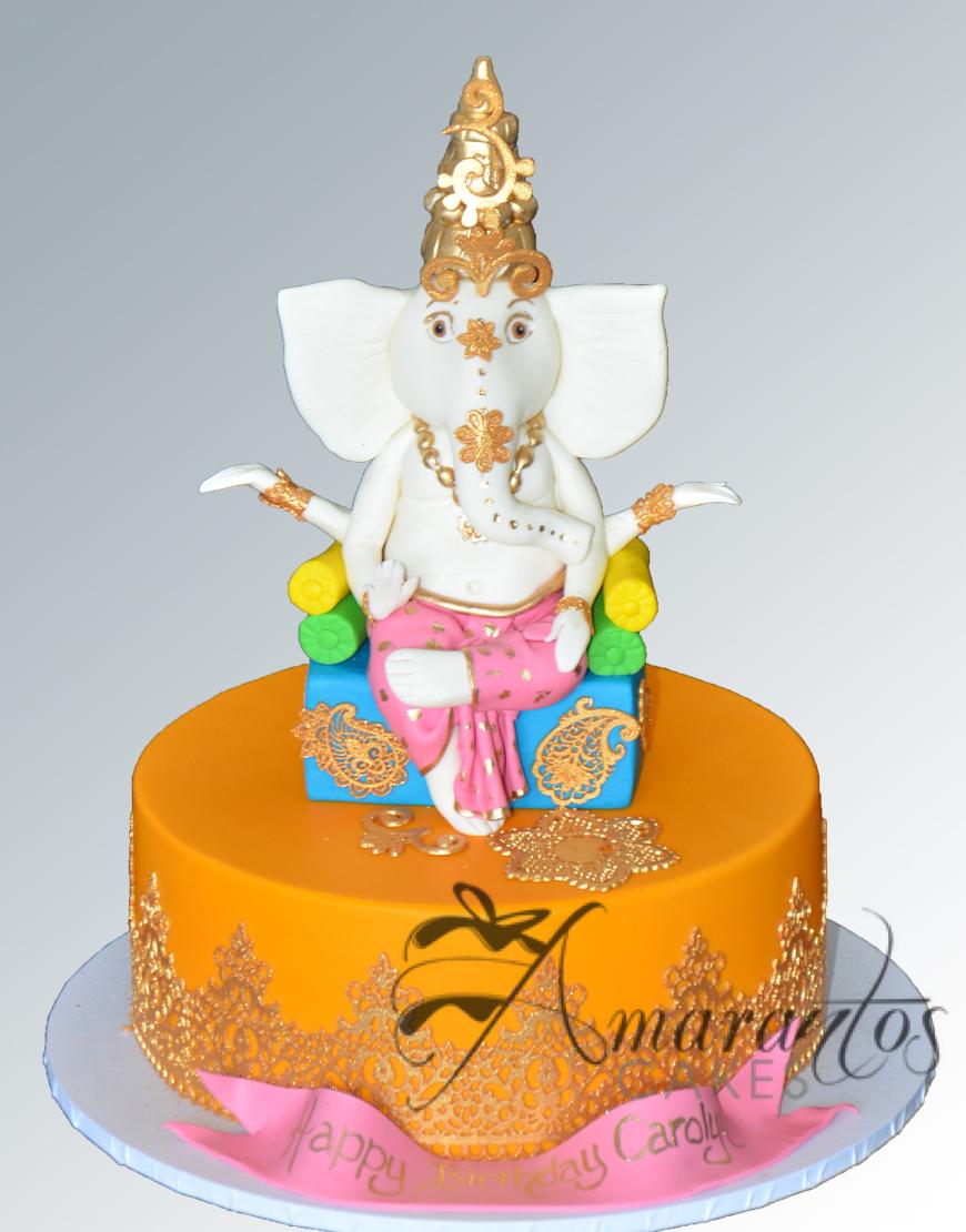 Ganesh Cake - NC461
