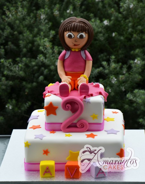 Two tier Dora Cake- NC478