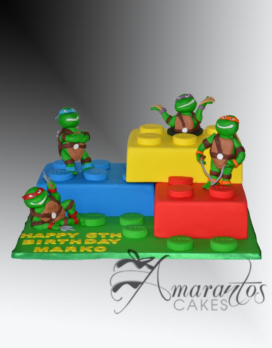 Lego TMNT Cake - NC488
