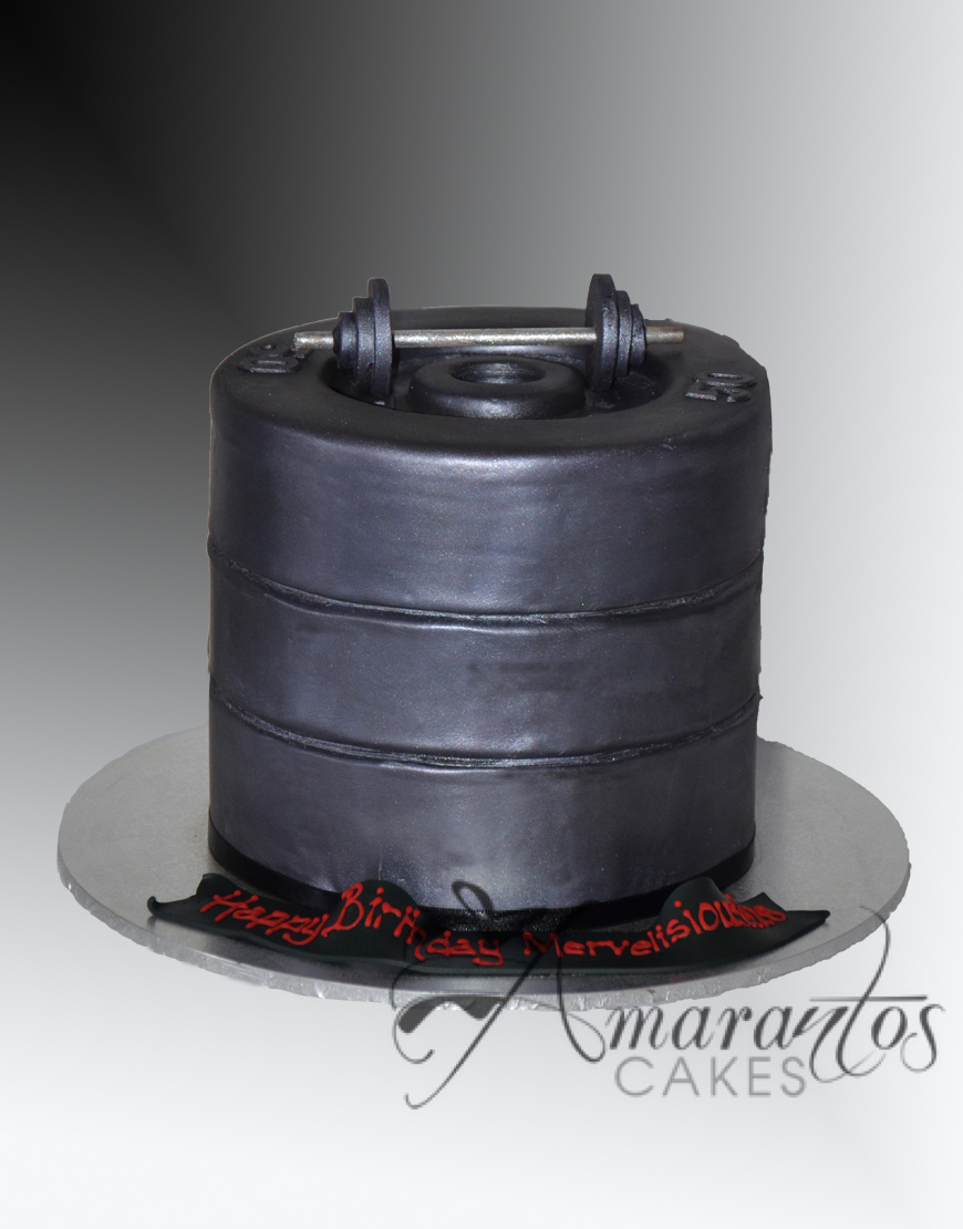Stacked Weights Cake - NC498