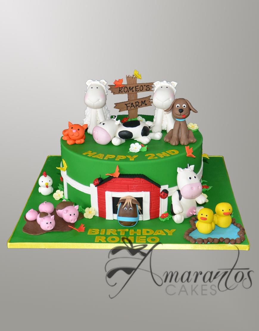 NC501 Farm Yard cake