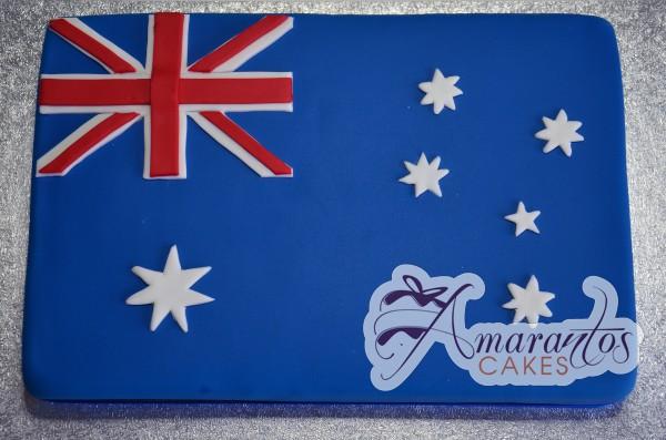 Australian flag cake NC502
