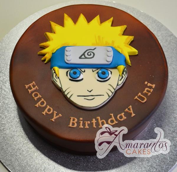Naruto Cake - Amarantos Cakes Melbourne