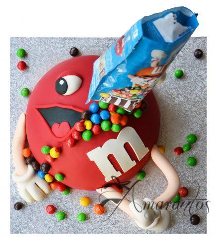 Red M&M Cake NC51