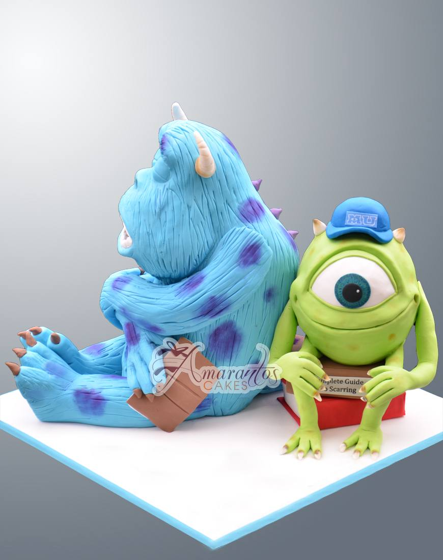 3D Mike & Sulley - NC529