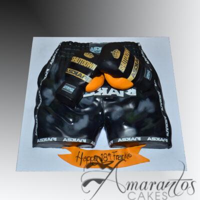 Boxing Shorts Cake - NC535
