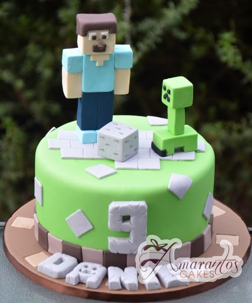 Minecraft Cake NC537
