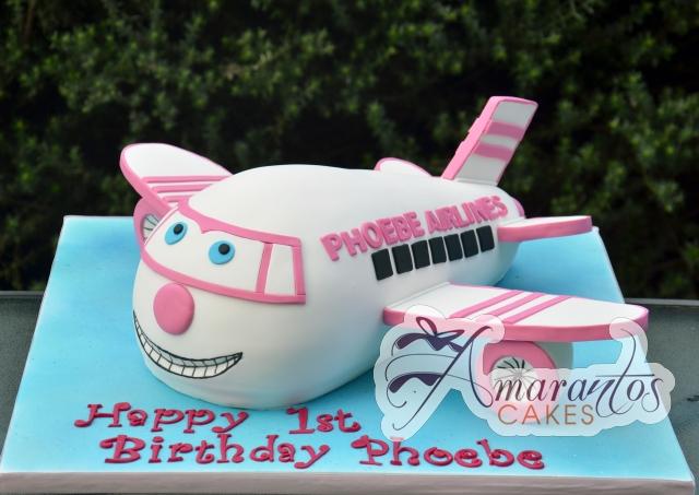 3D Jet Cake - Amarantos Custom Made Cakes Melbourne