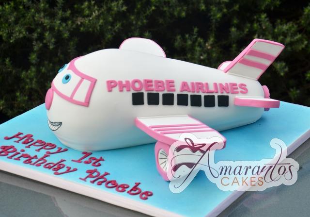 3D Jet Cake - Amarantos Designer Cakes Melbourne