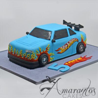 3D Hot 3D Hot Wheels Car - NC53
