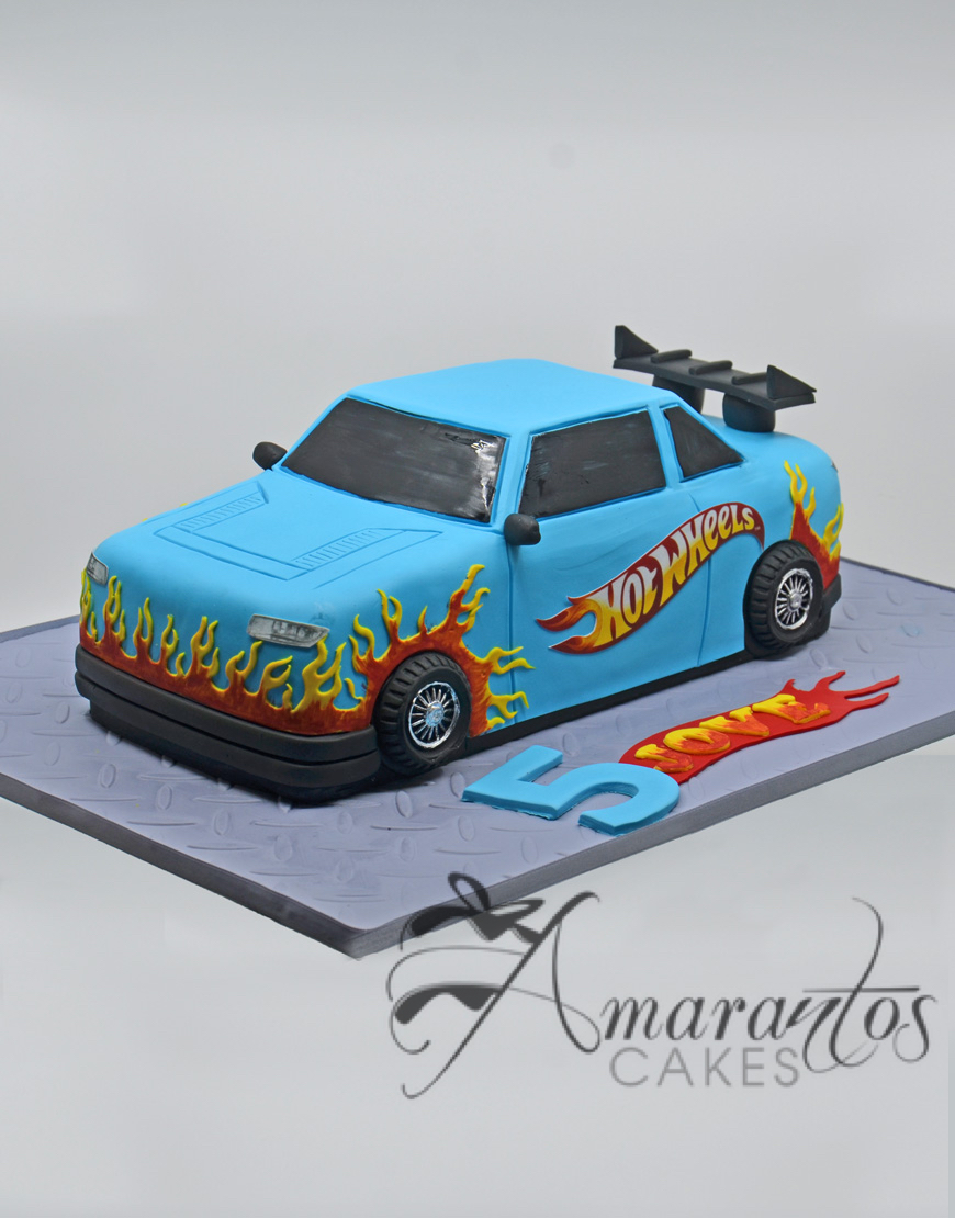 3D Hot 3D Hot Wheels Car - NC53