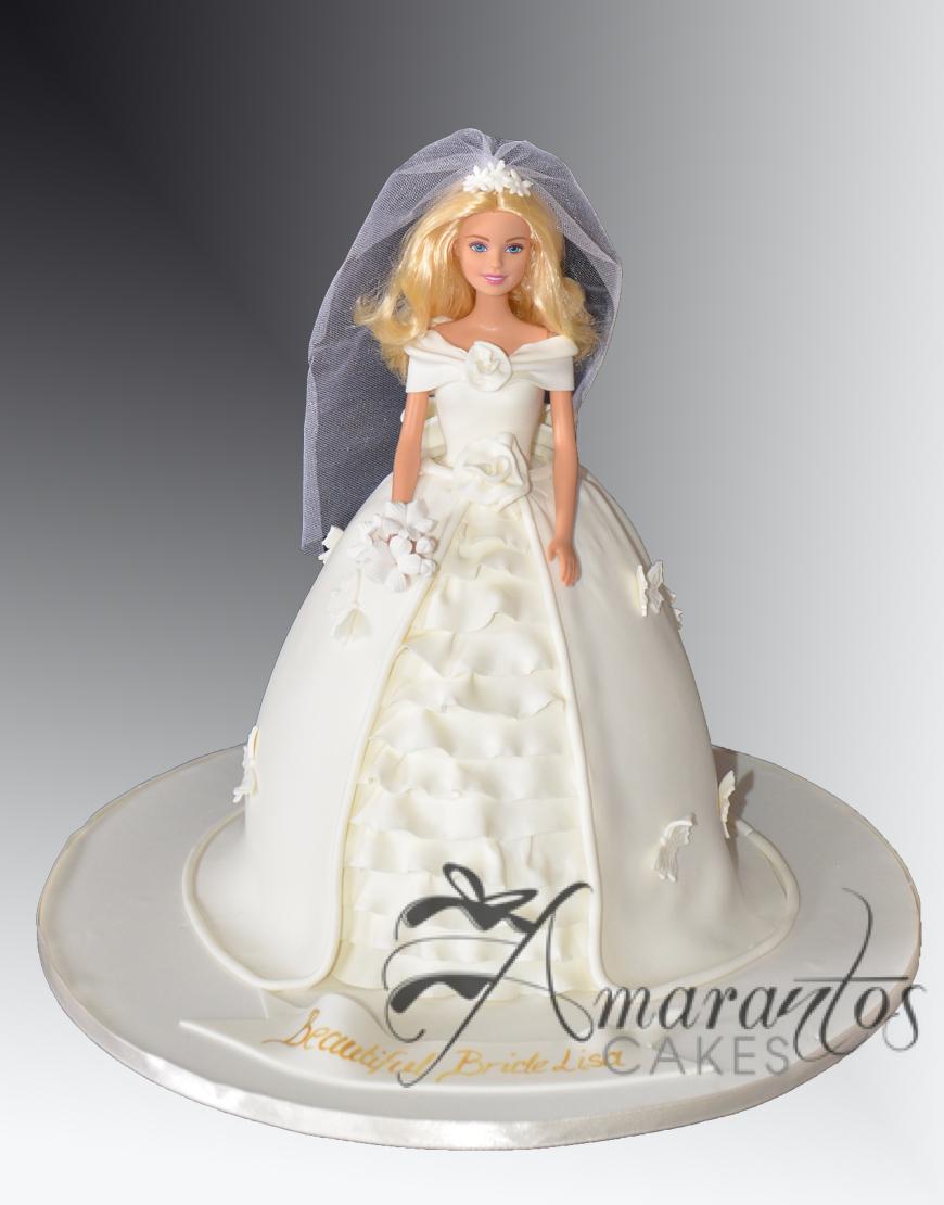 Barbie Bride Cake NC544