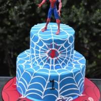 spiderman cake - Amarantos Designer Cakes Melbourne
