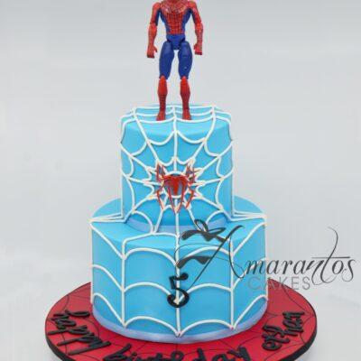 NC545 spiderman cake