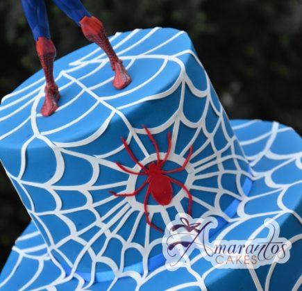 Spider Man Cake - Amarantos Designer Cakes Melbourne