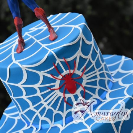 Two tier Spiderman theme- NC545