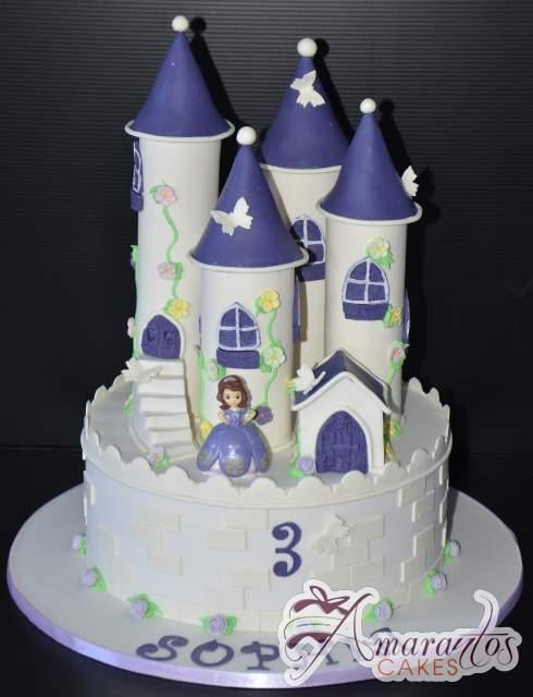 Castle Cake Nc549 Amarantos Cakes